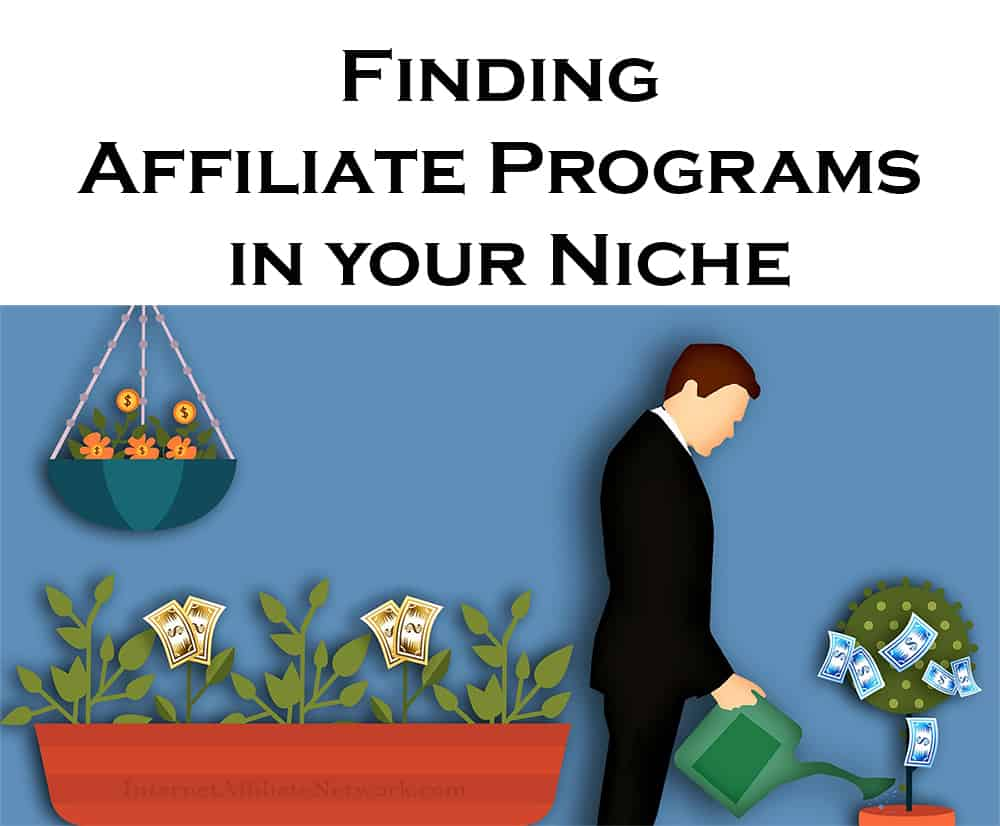 Finding Affiliate Programs in your Niche