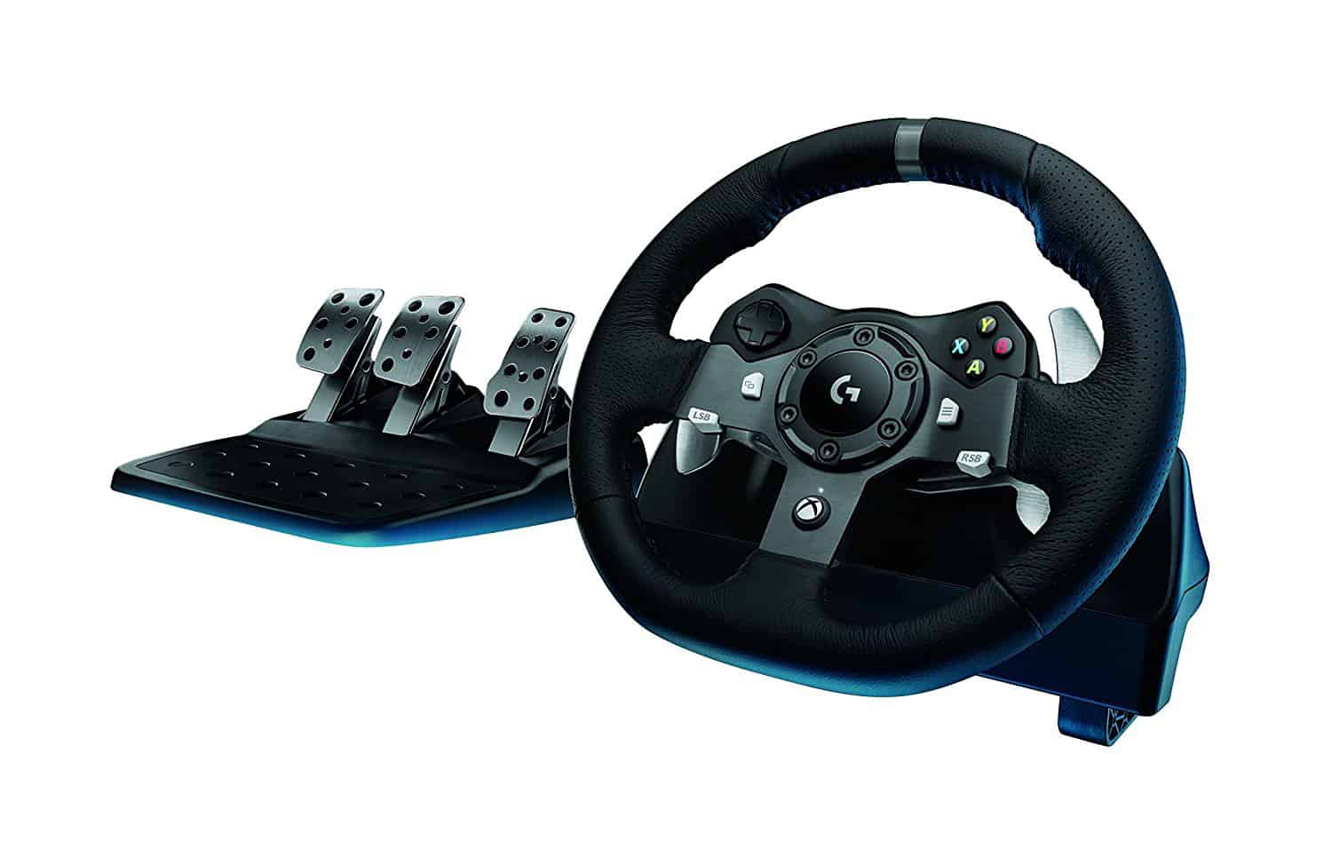 Logitech G920 driving force racing wheel - Logitech G920 review